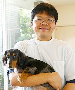 インタビュー画像: オアシス動物病院 - 回答者:獣医師 浅場大次郎さん