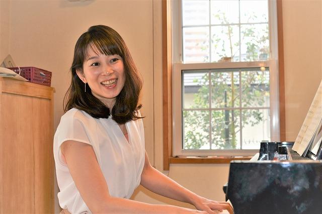 インタビュー画像: 勇気づけピアノ教室 - 回答者:嶋田範子さん