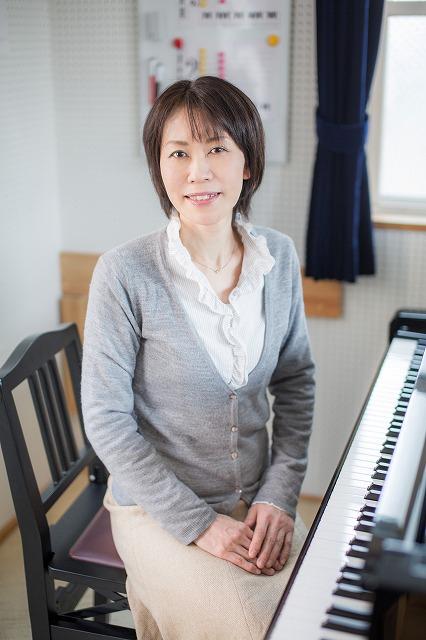 インタビュー画像: ピアノ教室poco a poco - 回答者:小林恵美子さん