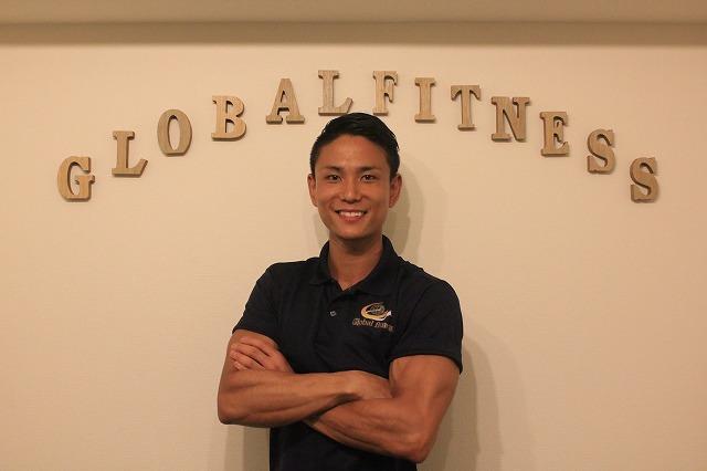 インタビュー画像: Global fitness 渋谷店 - 回答者:三瓶良晃さん