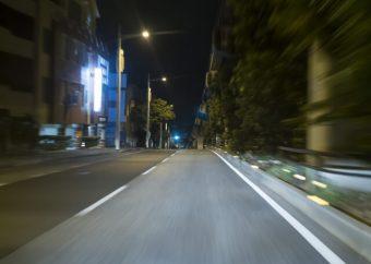 夜間 移動